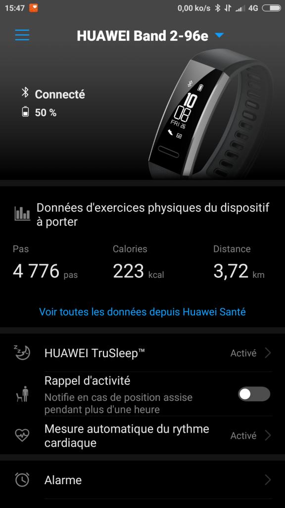Application Huawei Wear