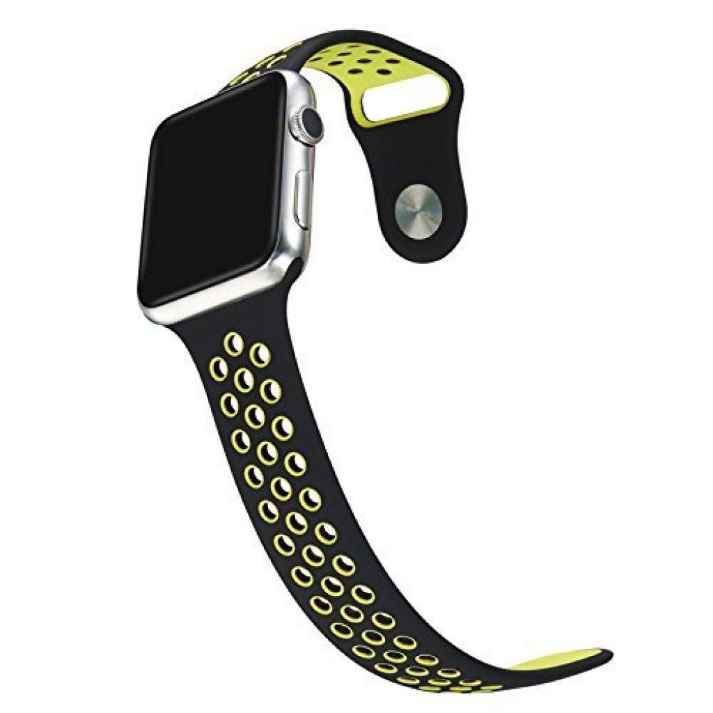 Bracelet silicone pas cher Apple Watch