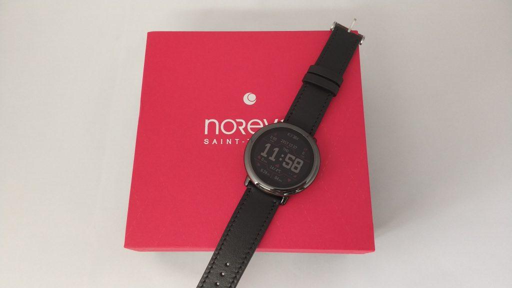 Bracelet cuir Noreve avec sa boite