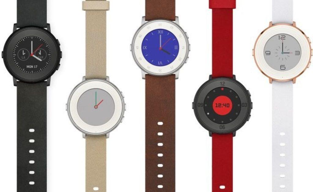 Pebble montres connectées