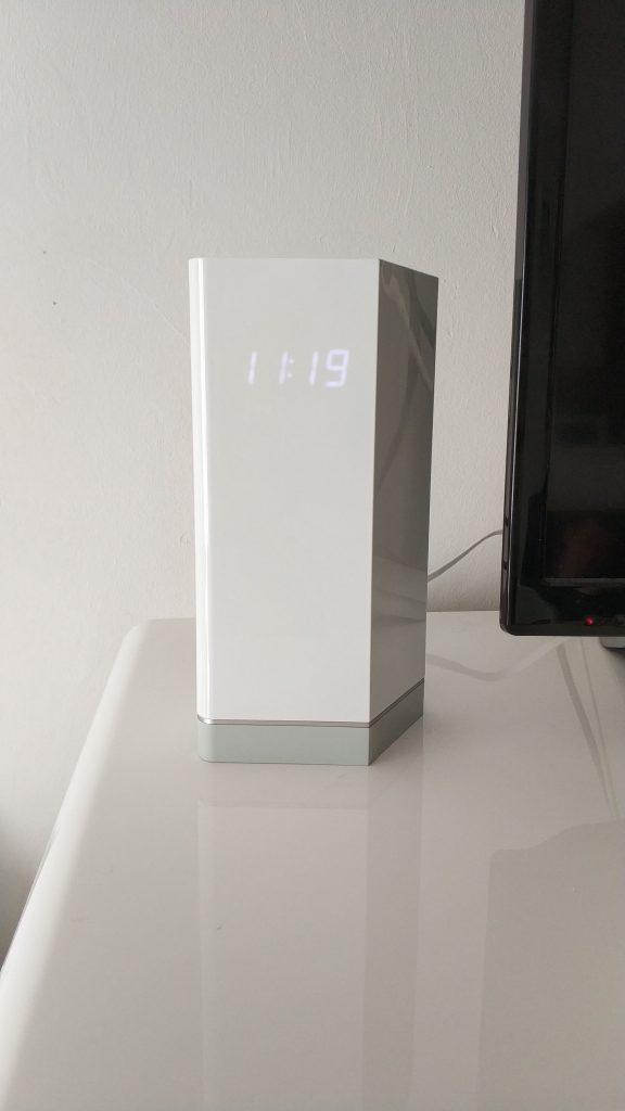 Vue avant horloge routeur F-Secure