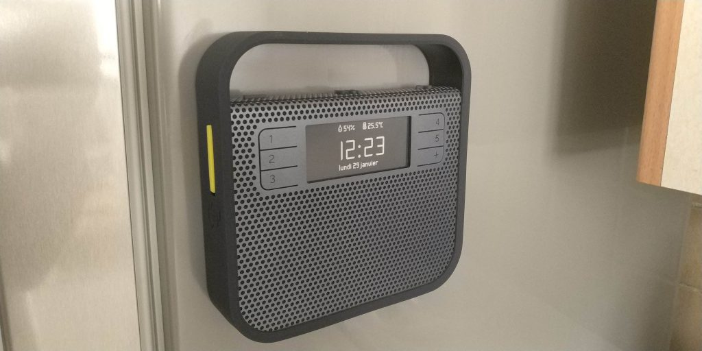 Vue globale radio Triby Invoxia