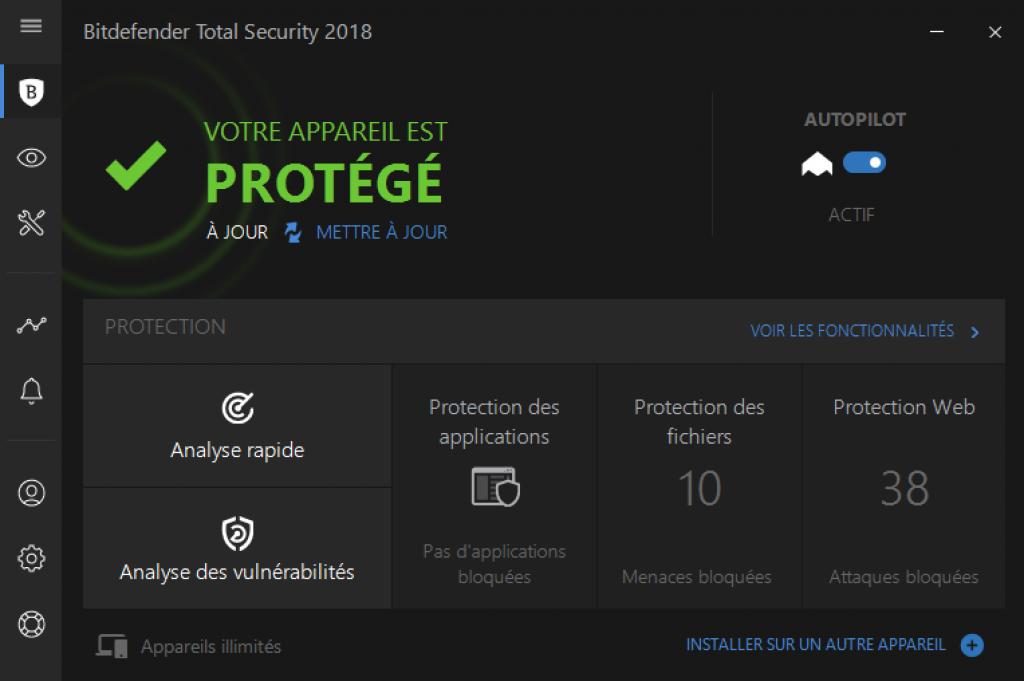 Bitdefender antivirus Windows 10