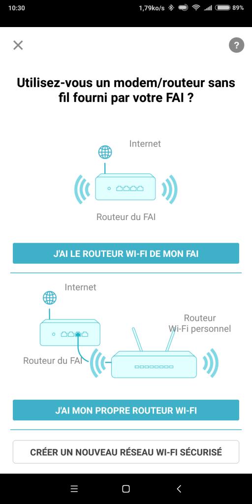 Configuration BOX 2 Wifi clonage