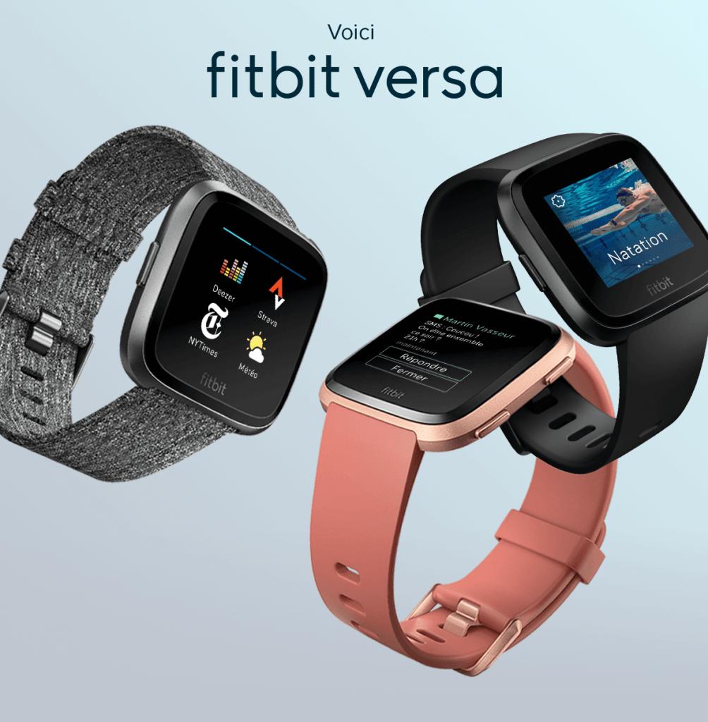 Montre sport Fitbit Versa