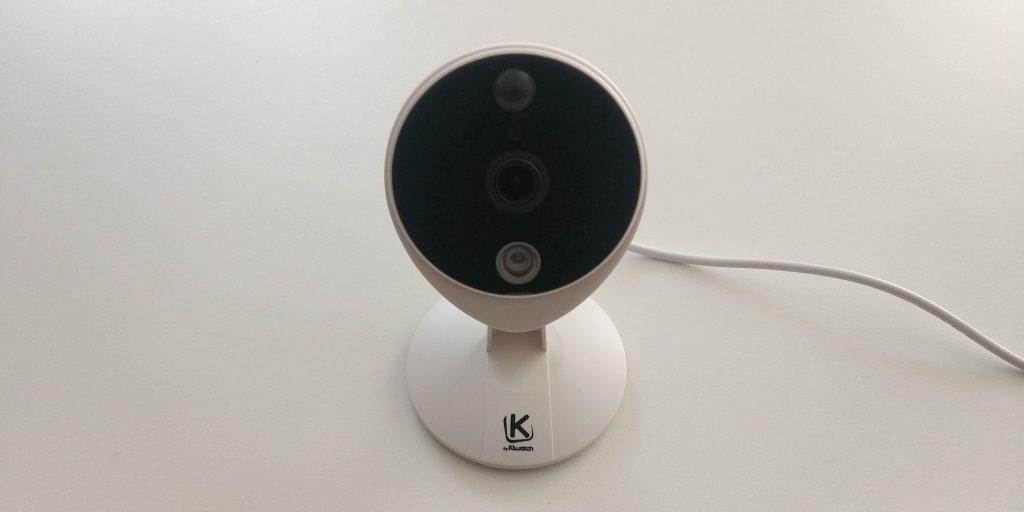 Design avant caméra Kiwatch