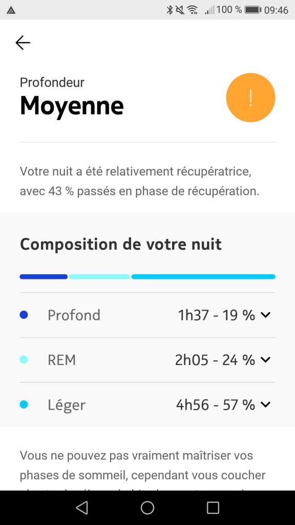 Composition sommeil Nokia Sleep