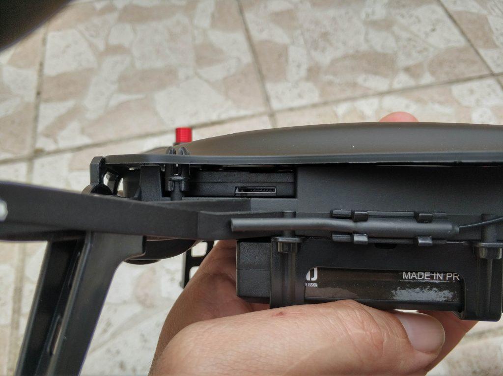 Port micro-SD caméra FPV