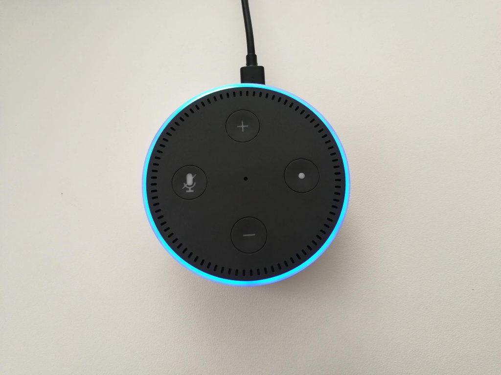 Boutons physiques Amazon Echo Dot