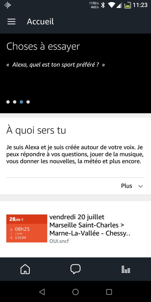 Application Alexa