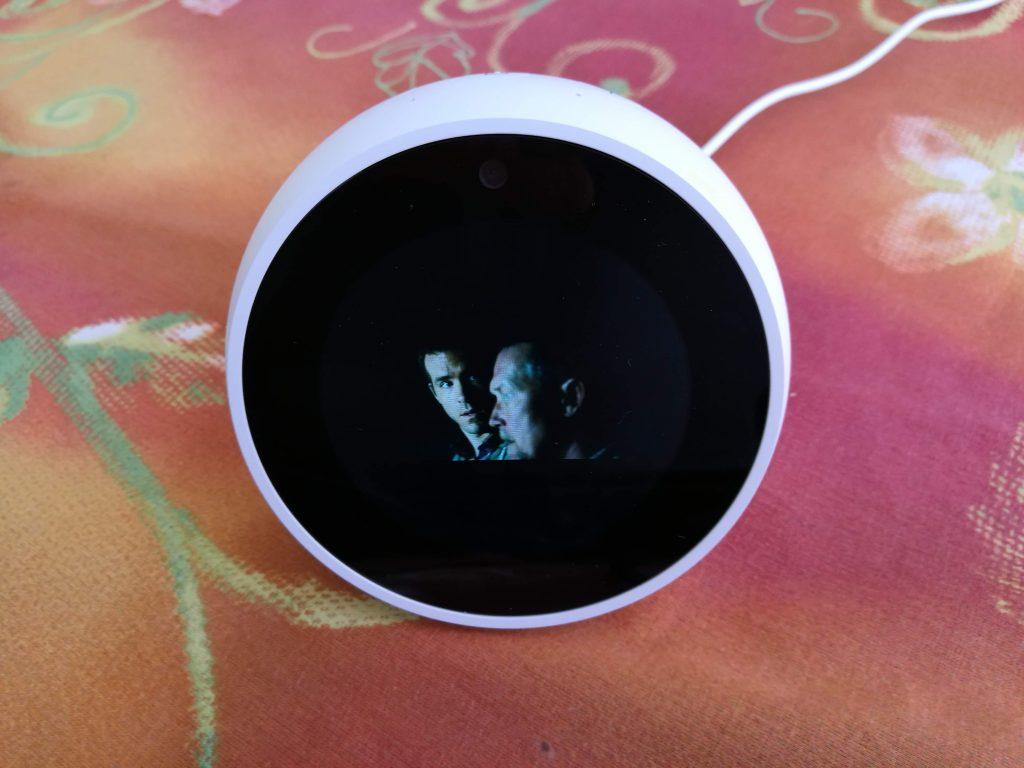 Visionnage film sur Echo Spot