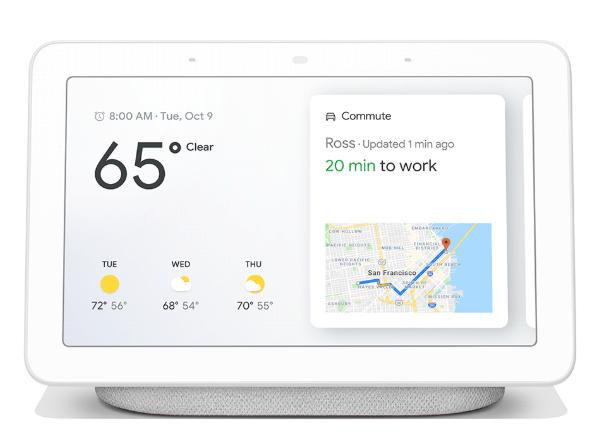Google Home Hub écran connecté