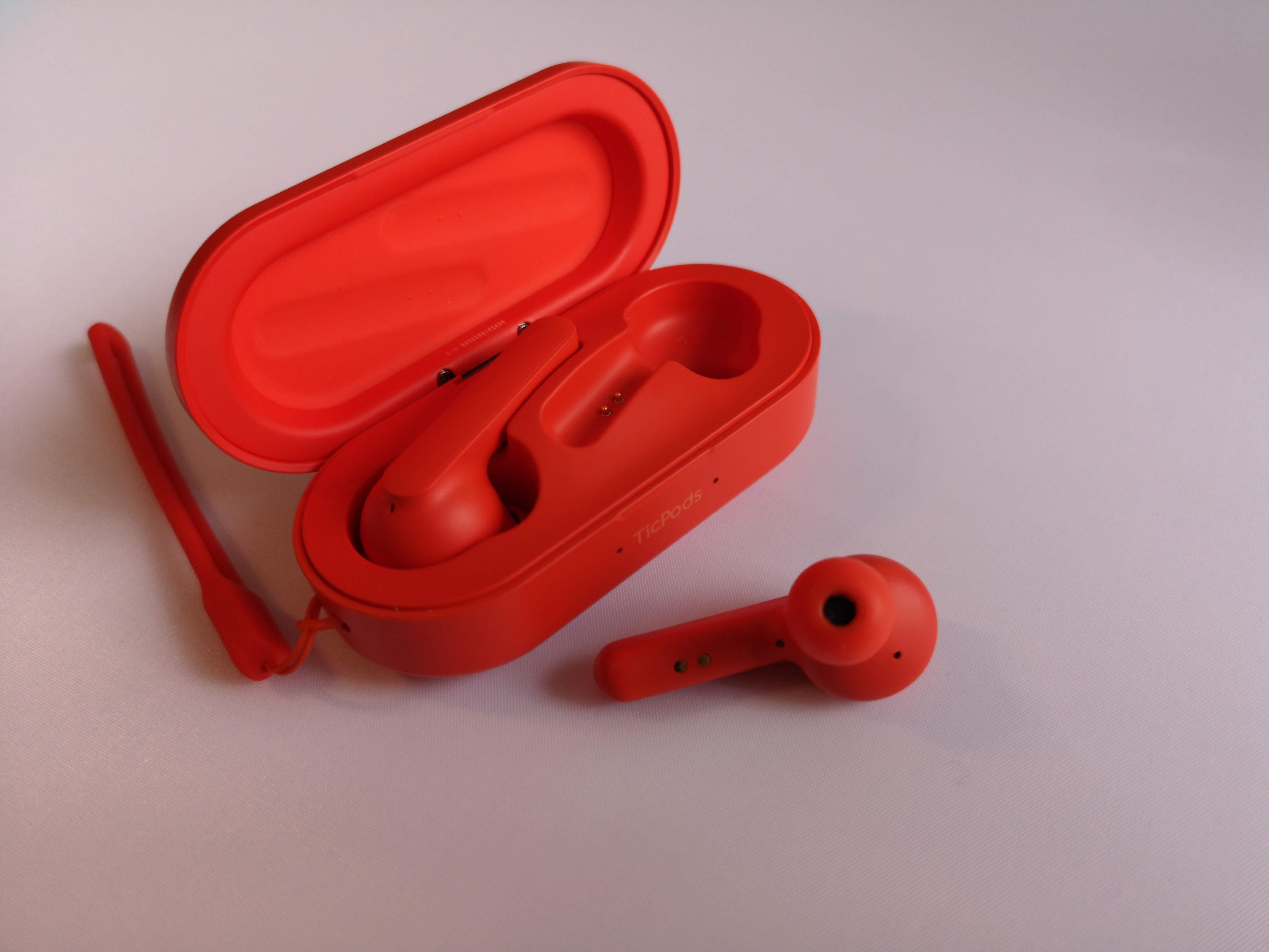 Test écouteurs TicPods Free