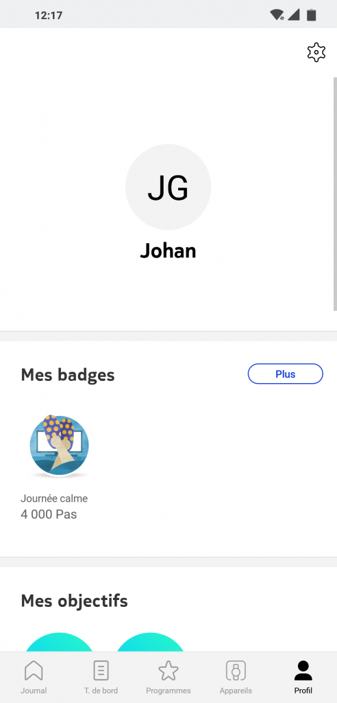 Profil Health Mate