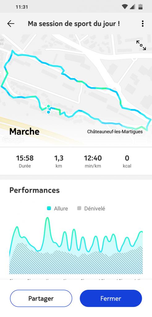 Suivi GPS connecté Withings