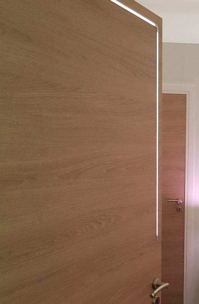 Porte lumineuse connectée Righini