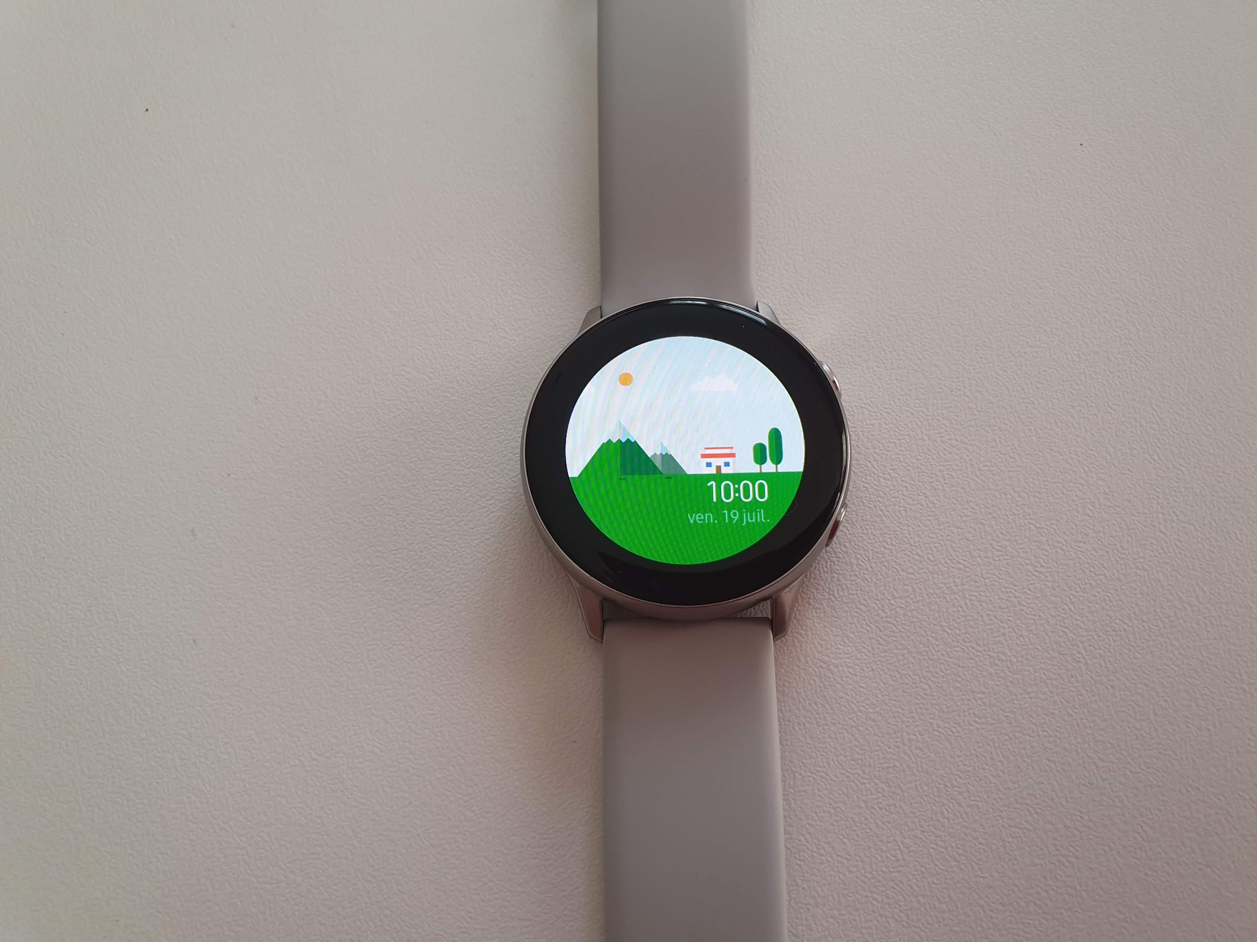 Ecran Watch Active