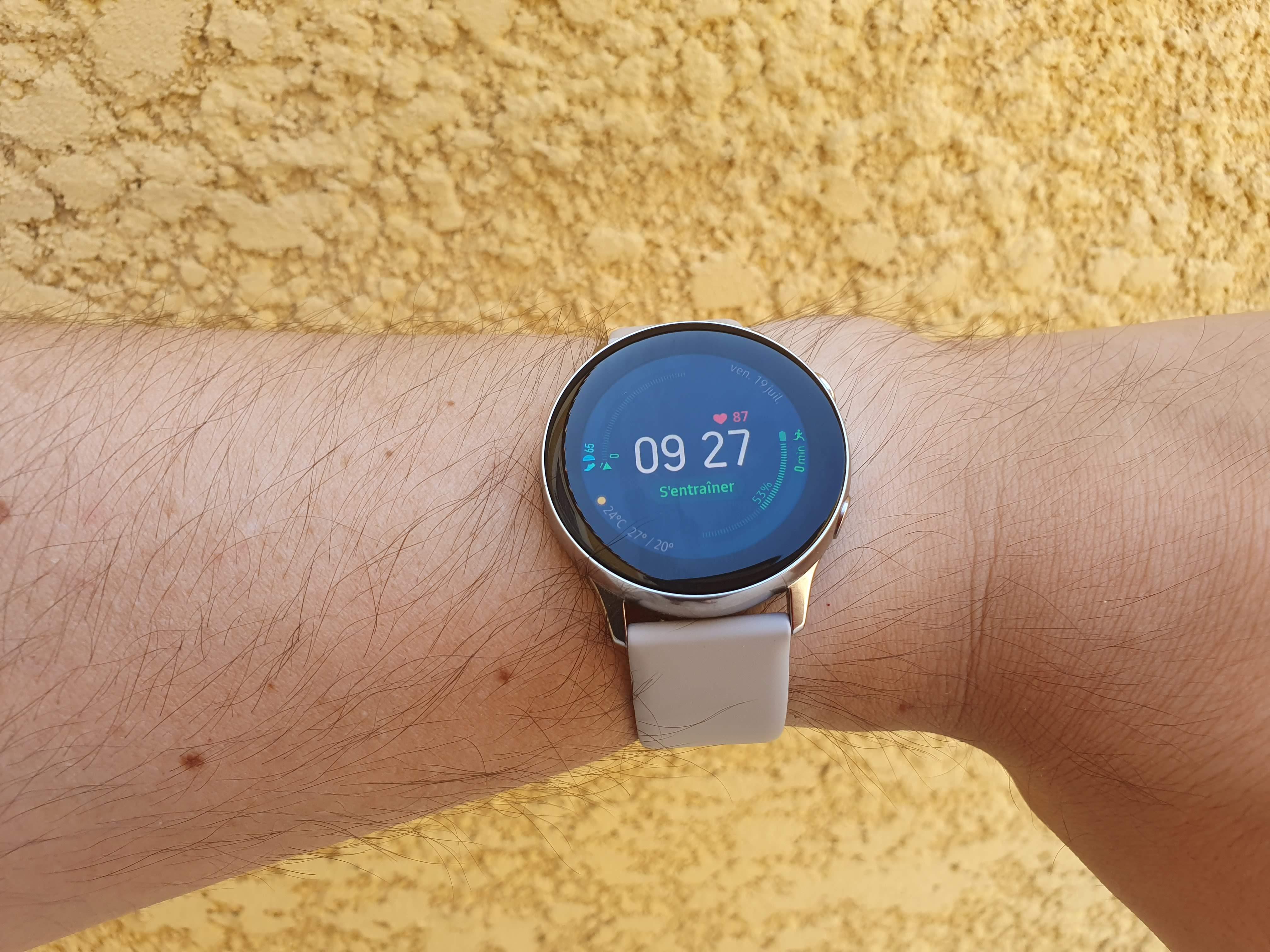 Ecran Galaxy Watch Active