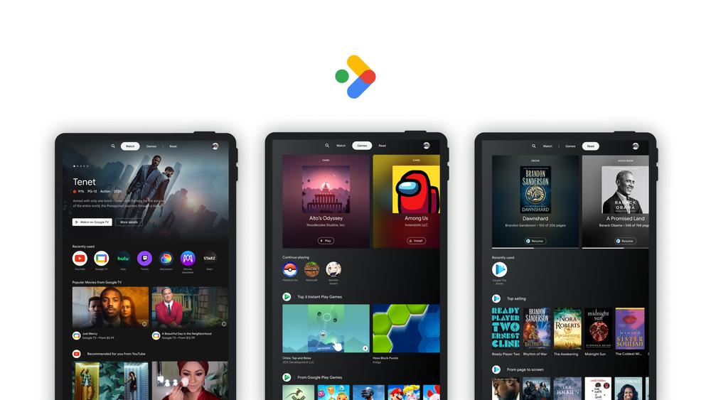 Divertissement collecté - nouvelle fonctionnalité sur le chemin des tablettes Android