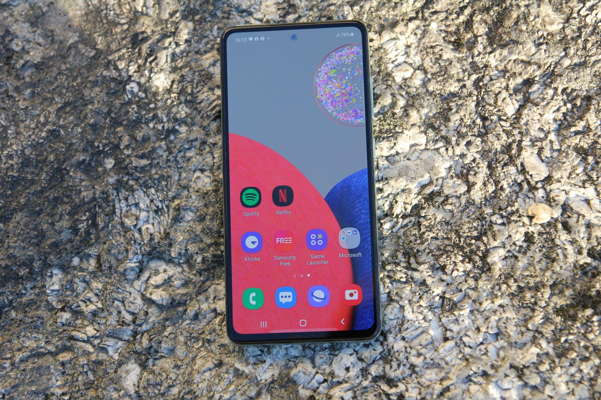 Test : Samsung Galaxy A52s 5G - Désormais presque top model